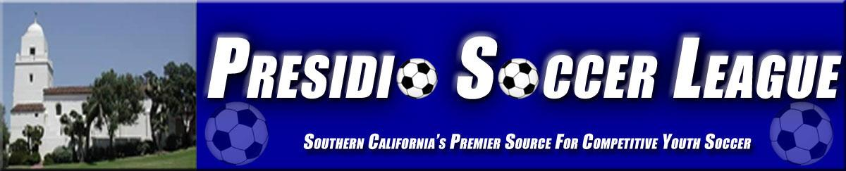 Presidio Soccer League banner